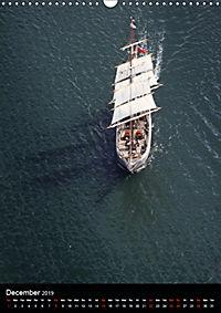 Sailboats seen from the air (Wall Calendar 2019 DIN A3 Portrait) - Produktdetailbild 12