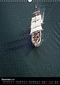 Sailboats seen from the air (Wall Calendar 2019 DIN A3 Portrait) - Produktdetailbild 12