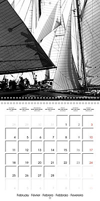 Sailing Dreams (Wall Calendar 2019 300 × 300 mm Square) - Produktdetailbild 2
