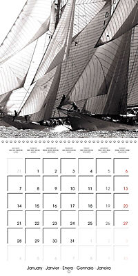 Sailing Dreams (Wall Calendar 2019 300 × 300 mm Square) - Produktdetailbild 1