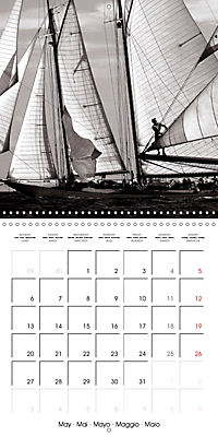 Sailing Dreams (Wall Calendar 2019 300 × 300 mm Square) - Produktdetailbild 5