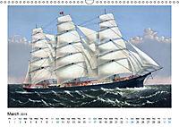 Sailing Ships (UK Version) (Wall Calendar 2019 DIN A3 Landscape) - Produktdetailbild 3