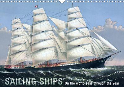 Sailing Ships (UK Version) (Wall Calendar 2019 DIN A3 Landscape), Babette Reek