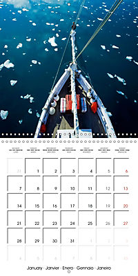 Sailing: The power of wind (Wall Calendar 2019 300 × 300 mm Square) - Produktdetailbild 1