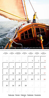 Sailing: The power of wind (Wall Calendar 2019 300 × 300 mm Square) - Produktdetailbild 2