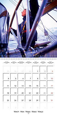Sailing: The power of wind (Wall Calendar 2019 300 × 300 mm Square) - Produktdetailbild 3