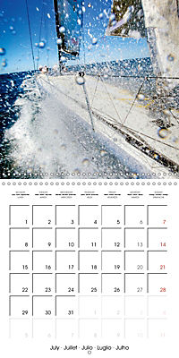 Sailing: The power of wind (Wall Calendar 2019 300 × 300 mm Square) - Produktdetailbild 7