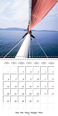 Sailing: The power of wind (Wall Calendar 2019 300 × 300 mm Square) - Produktdetailbild 5