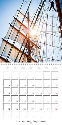 Sailing: The power of wind (Wall Calendar 2019 300 × 300 mm Square) - Produktdetailbild 6