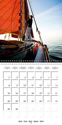 Sailing: The power of wind (Wall Calendar 2019 300 × 300 mm Square) - Produktdetailbild 4