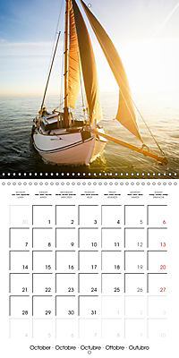 Sailing: The power of wind (Wall Calendar 2019 300 × 300 mm Square) - Produktdetailbild 10