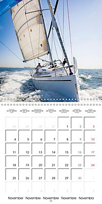 Sailing: The power of wind (Wall Calendar 2019 300 × 300 mm Square) - Produktdetailbild 11
