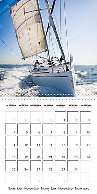 Sailing: The power of wind (Wall Calendar 2019 300 × 300 mm Square) - Produktdetailbild 11