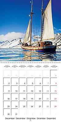 Sailing: The power of wind (Wall Calendar 2019 300 × 300 mm Square) - Produktdetailbild 12