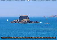 Saint Malo - Stadt der Korsaren (Wandkalender 2019 DIN A2 quer) - Produktdetailbild 1