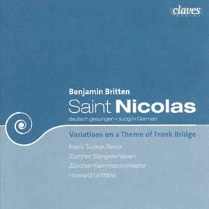 Saint Nicolas-Cantata Op.42/Variat.On A Themeop.10, Howard Griffiths
