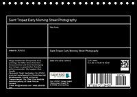 Saint Tropez - Early Morning Street Photography (Tischkalender 2019 DIN A5 quer) - Produktdetailbild 4