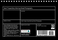 Saint Tropez - Early Morning Street Photography (Tischkalender 2019 DIN A5 quer) - Produktdetailbild 13
