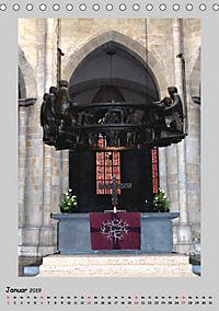 Sakral-Raum-Gestaltung - Die Kirchen von Hildesheim (Tischkalender 2019 DIN A5 hoch) - Produktdetailbild 1