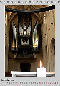 Sakral-Raum-Gestaltung - Die Kirchen von Hildesheim (Tischkalender 2019 DIN A5 hoch) - Produktdetailbild 12