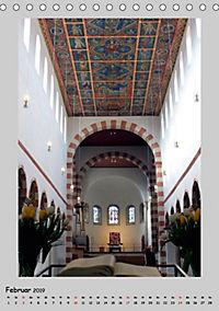 Sakral-Raum-Gestaltung - Die Kirchen von Hildesheim (Tischkalender 2019 DIN A5 hoch) - Produktdetailbild 2