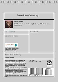 Sakral-Raum-Gestaltung - Die Kirchen von Hildesheim (Tischkalender 2019 DIN A5 hoch) - Produktdetailbild 13
