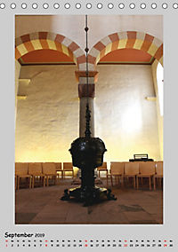 Sakral-Raum-Gestaltung - Die Kirchen von Hildesheim (Tischkalender 2019 DIN A5 hoch) - Produktdetailbild 9