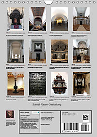 Sakral-Raum-Gestaltung - Die Kirchen von Hildesheim (Wandkalender 2019 DIN A4 hoch) - Produktdetailbild 13