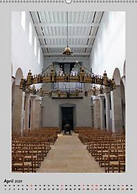 Sakral-Raum-Gestaltung - Die Kirchen von Hildesheim (Wandkalender 2019 DIN A2 hoch) - Produktdetailbild 4