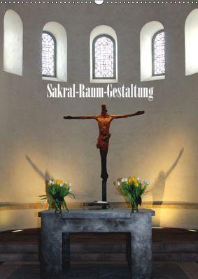 Sakral-Raum-Gestaltung - Die Kirchen von Hildesheim (Wandkalender 2019 DIN A2 hoch), Gerhard Niemsch