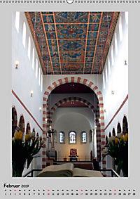 Sakral-Raum-Gestaltung - Die Kirchen von Hildesheim (Wandkalender 2019 DIN A2 hoch) - Produktdetailbild 2