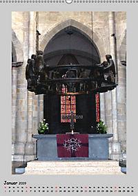 Sakral-Raum-Gestaltung - Die Kirchen von Hildesheim (Wandkalender 2019 DIN A2 hoch) - Produktdetailbild 1