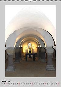 Sakral-Raum-Gestaltung - Die Kirchen von Hildesheim (Wandkalender 2019 DIN A2 hoch) - Produktdetailbild 3