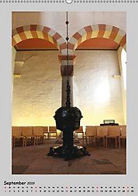 Sakral-Raum-Gestaltung - Die Kirchen von Hildesheim (Wandkalender 2019 DIN A2 hoch) - Produktdetailbild 9