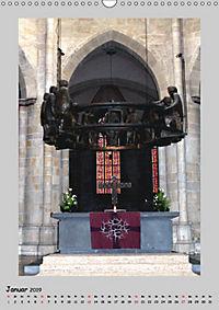 Sakral-Raum-Gestaltung - Die Kirchen von Hildesheim (Wandkalender 2019 DIN A3 hoch) - Produktdetailbild 1