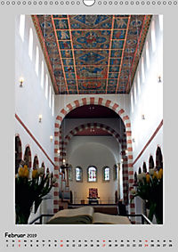 Sakral-Raum-Gestaltung - Die Kirchen von Hildesheim (Wandkalender 2019 DIN A3 hoch) - Produktdetailbild 2