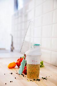 Salatdressing Shaker + Salatmesser 2er Set - Produktdetailbild 1