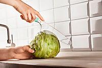 Salatdressing Shaker + Salatmesser 2er Set - Produktdetailbild 2