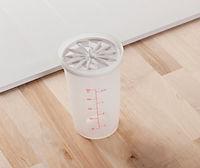 Salatdressing Shaker + Salatmesser 2er Set - Produktdetailbild 3