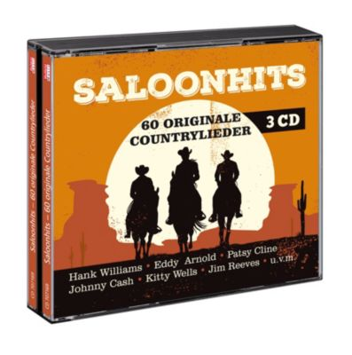 Saloonhits - 60 originale Countrylieder, Various