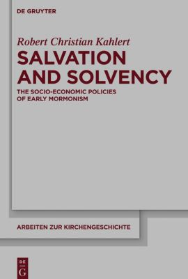 Salvation and Solvency, Robert Christian Kahlert