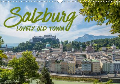 SALZBURG Lovely Old Town (Wall Calendar 2019 DIN A3 Landscape), Melanie Viola