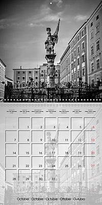 SALZBURG Monochrome Highlights (Wall Calendar 2019 300 × 300 mm Square) - Produktdetailbild 10