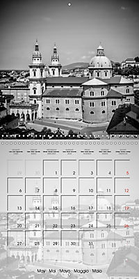 SALZBURG Monochrome Highlights (Wall Calendar 2019 300 × 300 mm Square) - Produktdetailbild 5