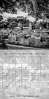 SALZBURG Monochrome Highlights (Wall Calendar 2019 300 × 300 mm Square) - Produktdetailbild 1