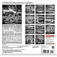 SALZBURG Monochrome Highlights (Wall Calendar 2019 300 × 300 mm Square) - Produktdetailbild 13