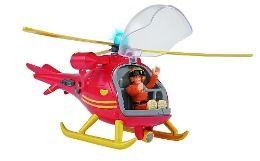 Sam Hubschrauber mit Figur