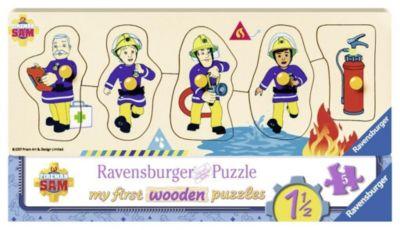 Sam und seine Freunde Holz-Konturpuzzle