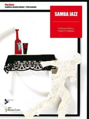Samba Jazz, Melodie-Instrumente, m. 2 Audio-CDs, Daniel D'Alcântara, Guilherme Ribeiro