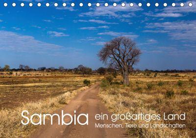 Sambia - ein grossartiges Land (Tischkalender 2019 DIN A5 quer), R. Siemer